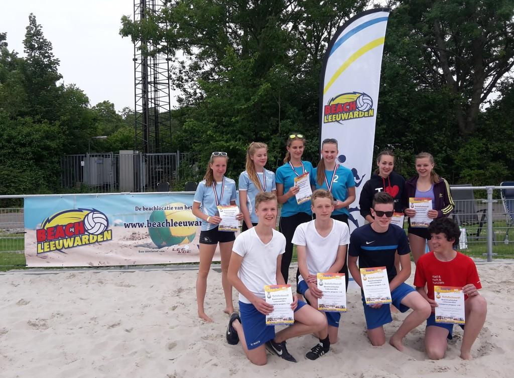 Winnaars Junior BeachLeeuwarden 2015 16